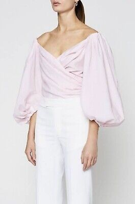 AU220 • Buy SCANLAN THEODORE COUPE TOP PINK Size 8 BNWT