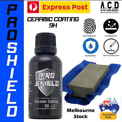 AU45 • Buy PRO Ceramic Car Paint Protection Glass Coating 9H+Hardness - Australian MADE