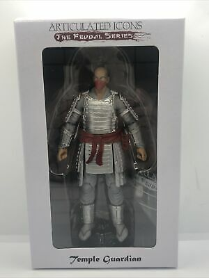 $ CDN50.74 • Buy Articulated Icons Temple Guardian 6  Action Figure Feudal Series Fwoosh Weapons