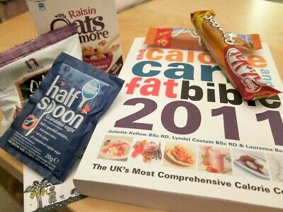 £2.99 • Buy The Calorie, Carb & Fat Bible: The UK's Most Comprehensive Calorie Counter: 2011