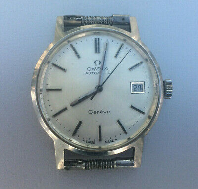 Vintage Omega Automatic Men's Watch - 1977 - Engraved - No Strap • 215£