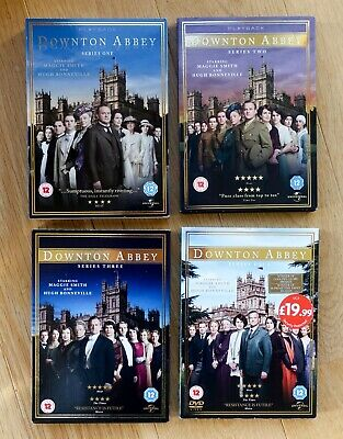 Boxed Sets DVD Downtown Abbey Series 1 - 4 • 4.99£