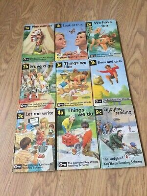 Vintage Ladybird Peter And Jane Reading Books • 9.50£