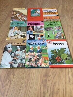 A Collection Of Vintage Ladybird Books • 7.99£