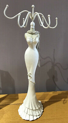 White Lady Jewellery Necklace Stand  • 1.99£