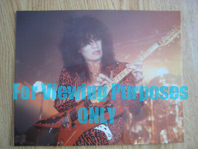 $ CDN10.10 • Buy Vintage AKIRA TAKASAKI 8x10 LIVE Color Photo Loudness Guitarist