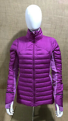 $ CDN123.48 • Buy Lululemon Size 10 Jacket Purple Puffer Goose Down Stretch