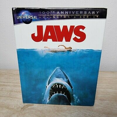 Jaws (1975) Blu-ray & DVD Digibook Universal 100th Anniversary Collectors Series • 12.99£