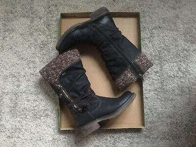 Paver Relive Knitted Cuff Boot Size 3 • 7£