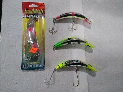 $ CDN13.29 • Buy Lot Of 4 Kwikfish K15x Nice Color Fishing Lures
