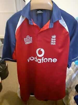 England  Cricket  Shirt   Size Adults  Xl • 16.50£