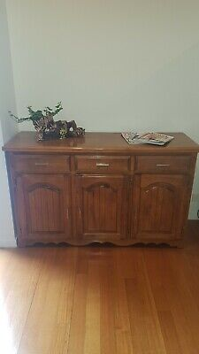 AU10 • Buy Vintage Antique Retro Cabinet Dresser Chest Of Drawers Cupboard TV Stand