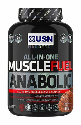 £27.99 • Buy USN Muscle Fuel Anabolic Protein Shake Chocolate 2kg