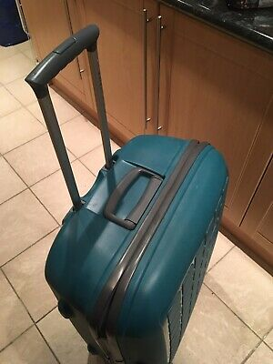 TRIPP Large Green Suitcase - 4 Wheels - Hard Shell - Used Twice - Free P&P • 49.99£