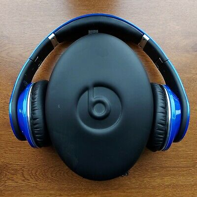 Original Blue Studio Monster Beats By Dr. Dre *BOXED* *MINT CONDITION* *WIRED* • 67.99£