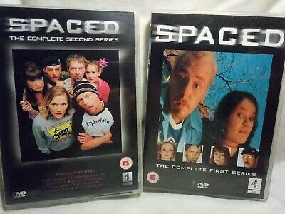 £5.99 • Buy Spaced Complete First 1st & Second 2nd Series Simon Pegg Dvd (S)