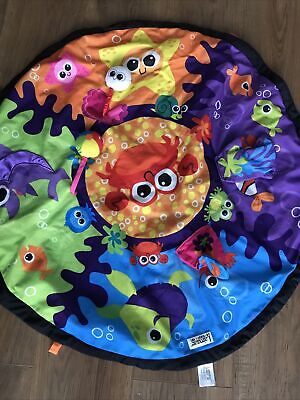 Lamaze LC27100 Explore Garden Baby Play Mat Only. In Very Good 'used' Condition • 11£