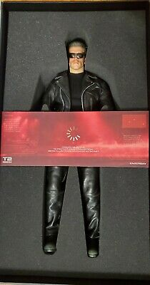 $789 • Buy Enterbay Terminator 2 Judgment Day T-800 HD 1/4 Scale Figure Mint