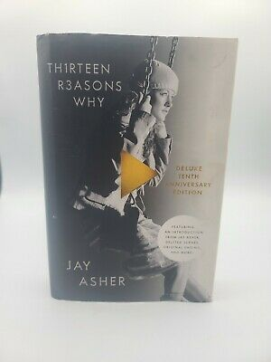 13 Thirteen Reasons Why Deluxe Tenth Anniversary Edition Book By Jay Asher • 8.68£