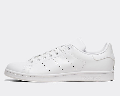 AU99 • Buy Adidas Stan Smith Mens Shoes Sneakers All White US 10.5 UK 10 *Brand NEW*