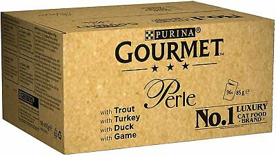 Gourmet Wet Cat Food Perle Country Medley, 96 Pouches, 96 X 85 G • 27.92£