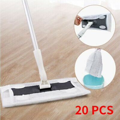 20pcs Wood Tile Laminate Floor Cleaner Static Cleaning Mop Wet Or Dry #Y03 • 7.79£
