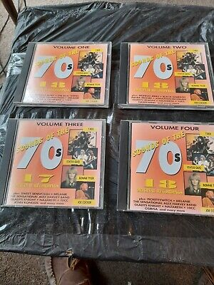 Sounds Of The 70s  X4 Cd's • 0.99£