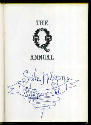 Spike Milligan - The Q Annual; SIGNED 1st/1st  • 124.95£