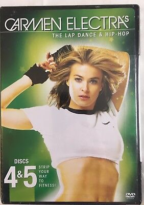 Brand New Sealed CARMEN ELECTRA The Lap Dance And Hip Hop(DVD- 2005, 2-Disc Set) • 7.09£