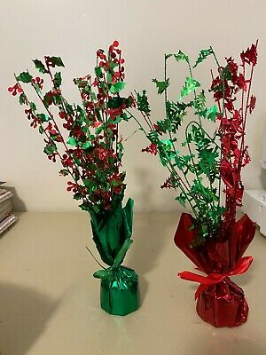 Christmas Table Tree Centerpieces!!! 12 Pieces!!! • 5.66£