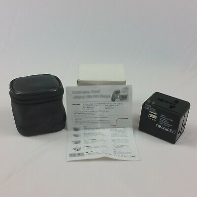 AU19.34 • Buy Multi Nation Travel Adapter For USA Australia New Zealand United Kingdom Europe