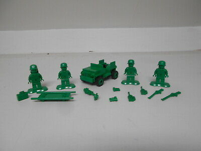 Lego Toy Story 7595 Army Men On Patrol With 4 Minifigures   Free Uk Postage • 14.99£