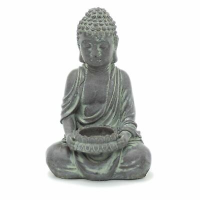 £9.80 • Buy Buddha Statue Tealight Candle Holder   Stress Relief Meditation Candle Holder
