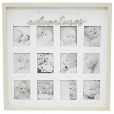 £18.99 • Buy Baby My First Year Photo Frame | Newborn 12 Aperture Multi Picture Frame