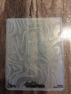 £4.95 • Buy Sizzix Large Embossing Folder - TIM HOLTZ - ABSTRACT