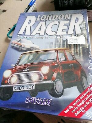 London Racer Big Box Game PC CD-ROM Vintage Game  Rare  • 6.70£