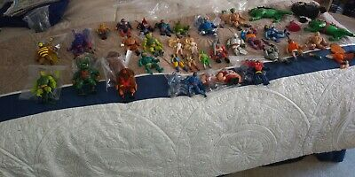 $102.50 • Buy Lot Of 47+ Items MOTU He-Man Master Of The Universe And She Ra Vintage Lot