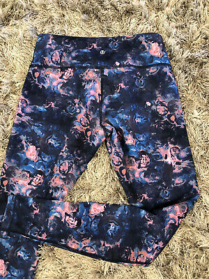 $ CDN50.63 • Buy Lululemon Women's Floral Leggings Size 10  Wonder Under