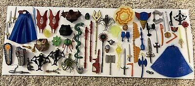 $299 • Buy HUGE Lot Of 60+ Masters Of The Universe Classics Weapons/accessories MOTUC 2011