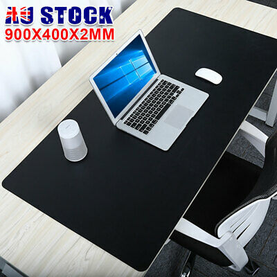AU13.95 • Buy Extended Large Gaming Mouse Pad XXL 90x40cm Anti-slip Desk Mat Keyboard Mousepad