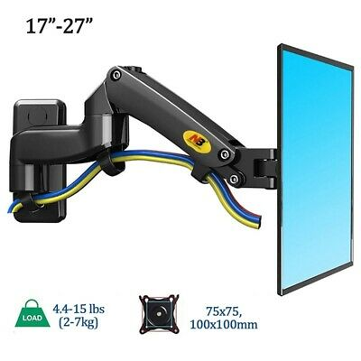 Monitor Arm Mount Desktop Monitor Table Stand 360 Rotate Monitor Holder Bracket • 71.52£
