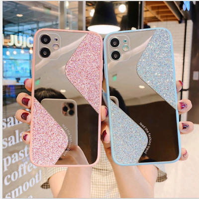 AU9.99 • Buy Glitter Bling Case For IPhone 11 Pro Max 8 7 SE Xr Shockproof Soft Mirror Cover