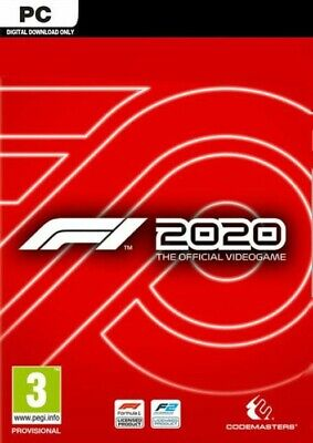 F1 2020 PC Steam Download - Region Free • 19.99£