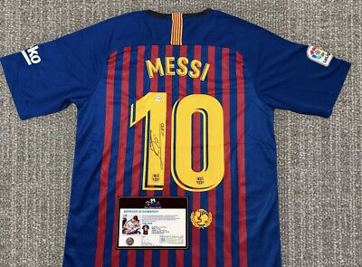 AU452.08 • Buy Messi Jersey Signed