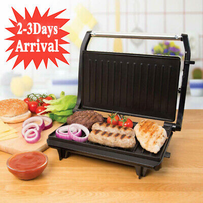Table Top Compact 700w Health Grill Griller Sandwich Panini Toastie Maker Press • 20.98£