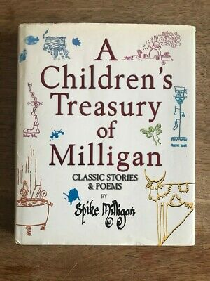 A Children's Treasury Of Milligan Classic Stories & Poems By Spike Milligan 1999 • 3£