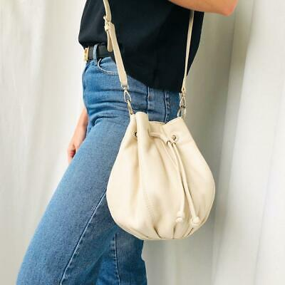 AU140 • Buy Oroton Cream Leather Pouch Crossbody Bag