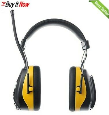 PROTEAR Ear Defenders With FM/AM Radio, MP3 Compatible, SNR 30dB • 58.89£
