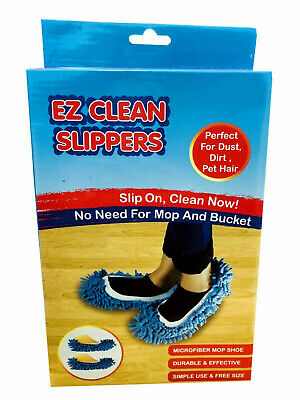 £4.98 • Buy Dust Mop Slippers Lazy Floor Polishing Cleaning Socks Shoes Student Novelty Gift