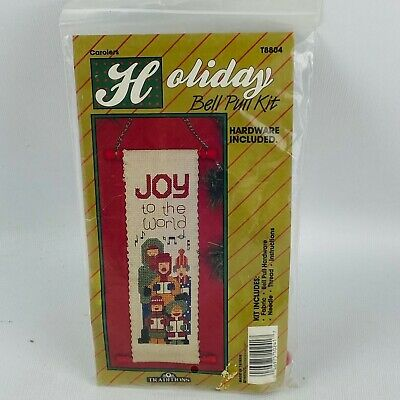 Traditions T8804 Carolers Holiday Bell Pull Counted Cross Stitch Kit Flaws • 4.33£